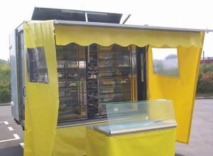 Remorque pour rôtisserie longueur 2.55 mètres - Devis sur Techni-Contact.com - 1