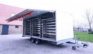 Remorque rôtisserie 500 double essieu  - Devis sur Techni-Contact.com - 2