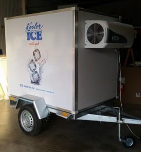 Remorque traiteur frigorifique R175 - Devis sur Techni-Contact.com - 1