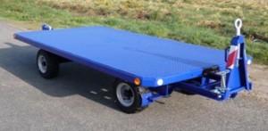 Remorque transitaire 4 tonnes pour transport de marchandise - Devis sur Techni-Contact.com - 1