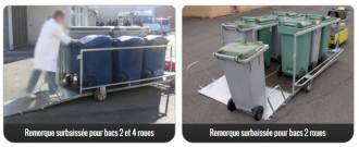 Remorque utilitaire conteneurs - Devis sur Techni-Contact.com - 2