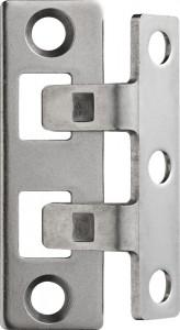 Renfort paumelles à deux crochets fixes - Devis sur Techni-Contact.com - 1