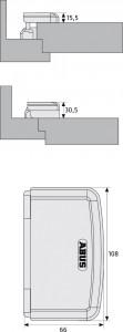 Renfort paumelles pour portes extérieures - Devis sur Techni-Contact.com - 4