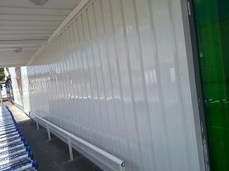 Rénovation peinture abri chariots supermarchés - Devis sur Techni-Contact.com - 1