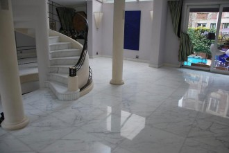 Rénovation sol marbre - Devis sur Techni-Contact.com - 1