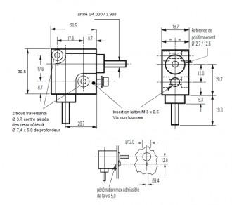Renvois d'angles étalonné - Devis sur Techni-Contact.com - 2