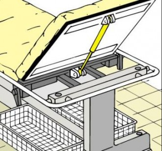 Ressorts à gaz blocables - Devis sur Techni-Contact.com - 1