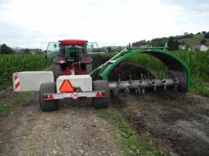 Retourneur de compost Gujer TG301 - Devis sur Techni-Contact.com - 1