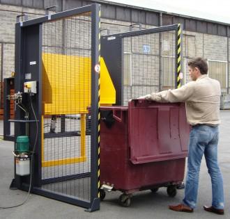 Retourneur videur roulant de poubelle - Devis sur Techni-Contact.com - 2