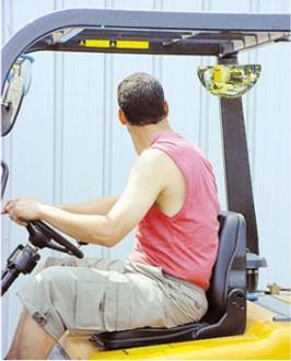 Rétroviseur arrière pour chariot élévateur - Devis sur Techni-Contact.com - 3