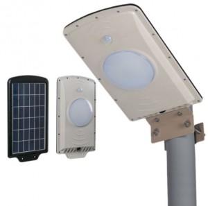 Réverbère solaire LED avec contrôle de lumière - Devis sur Techni-Contact.com - 1