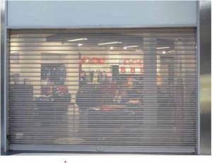 Rideau de magasin micro-perfore - Devis sur Techni-Contact.com - 1