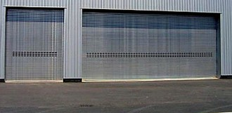 Rideau métallique sur mesure pour stockage marchandises - Devis sur Techni-Contact.com - 1