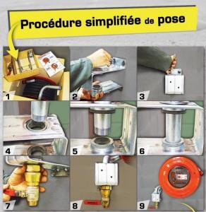 Robinet d'incendie armé DN 33 (R.I.A) - Devis sur Techni-Contact.com - 2
