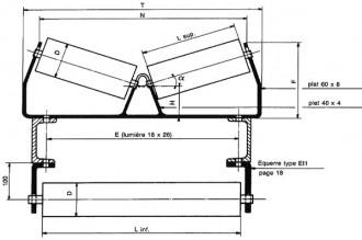 Rouleau V de support - Devis sur Techni-Contact.com - 1