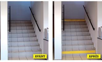 Rouleaux de signalisation escalier - Devis sur Techni-Contact.com - 1
