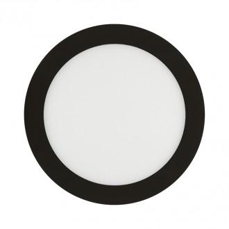 Round Panel Alu ou Noir 6W - 120mm - Devis sur Techni-Contact.com - 2
