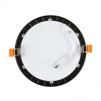Round Panel Alu ou Noir 6W - 120mm - Devis sur Techni-Contact.com - 3