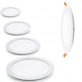 Round panel blanc Led - Devis sur Techni-Contact.com - 1