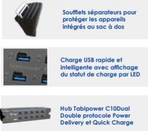 Sac à dos connecté pour 10 tablettes - Devis sur Techni-Contact.com - 4