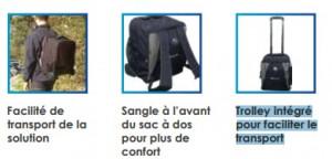 Sac à dos connecté pour 10 tablettes - Devis sur Techni-Contact.com - 5