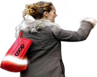 Sac shopping réfléchissant - Devis sur Techni-Contact.com - 1