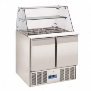 Saladette réfrigérée vitrée 2  - Devis sur Techni-Contact.com - 1