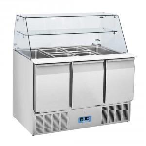 Saladette réfrigérée vitrée 2  - Devis sur Techni-Contact.com - 2
