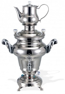 Samovar en inox poli miroir - Devis sur Techni-Contact.com - 1
