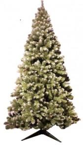 Sapin de Noël pré-éclairé 240 cm - Devis sur Techni-Contact.com - 1