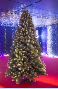 Sapin de Noël pré-éclairé 240 cm - Devis sur Techni-Contact.com - 3