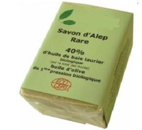 Savon d'Alep bio 40% huile laurier - Devis sur Techni-Contact.com - 1