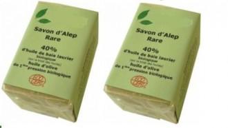 Savon d'Alep bio 40% huile laurier - Devis sur Techni-Contact.com - 2