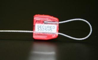 Scellé de sécurité sans butée d'arrêt - Devis sur Techni-Contact.com - 1