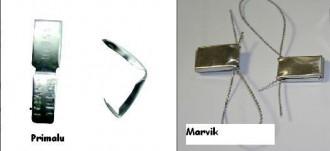 Scellé métallique - Devis sur Techni-Contact.com - 1