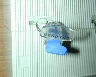 Scellé plastique à fermeture manuelle par verrouillage - Devis sur Techni-Contact.com - 2