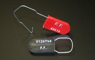 Scellé plastique avec crochet métallique - Devis sur Techni-Contact.com - 1