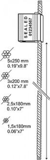 Scellés à cable - Devis sur Techni-Contact.com - 3