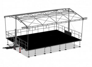 Scène mobile 60m²  - Devis sur Techni-Contact.com - 3
