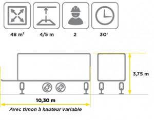 Scène mobile avec hauteur variable - Devis sur Techni-Contact.com - 3