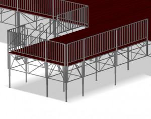 Scène traditionnelle modulable - Devis sur Techni-Contact.com - 3