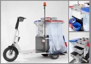 Scooter électrique de nettoyage - Devis sur Techni-Contact.com - 1