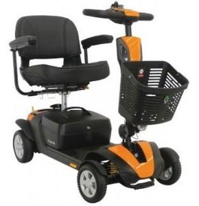 Scooter électrique PMR suspensions avant et arrière - Devis sur Techni-Contact.com - 1