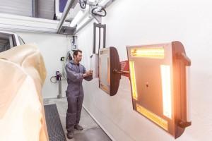 Secheur infrarouge carrosserie - Devis sur Techni-Contact.com - 2