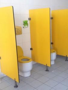 Séparateur urinoirs en bois stratifié - Devis sur Techni-Contact.com - 1