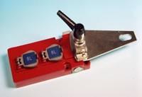 Serrure d'acces à 2 entrées de clé pour verrouillage porte - Devis sur Techni-Contact.com - 1