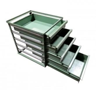 Servante atelier fixe 5 tiroirs - Devis sur Techni-Contact.com - 1