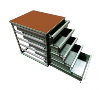 Servante atelier fixe 5 tiroirs - Devis sur Techni-Contact.com - 2