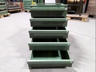 Servante atelier fixe 5 tiroirs - Devis sur Techni-Contact.com - 5