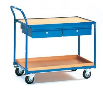 Servante d'atelier à 2 tiroirs - Devis sur Techni-Contact.com - 1